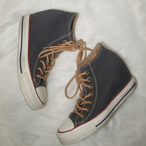 7140ef991185 Converse Chuck Taylor All Star Lux Mid Wedge